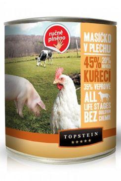 Topstein Masíčko v plechu - kuřecí 850 g