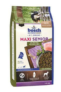 Bosch Dog Senior Maxi Chicken&Rice 1kg