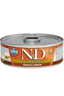 N&D CAT PUMPKIN Adult Venison & Pumpkin 80g