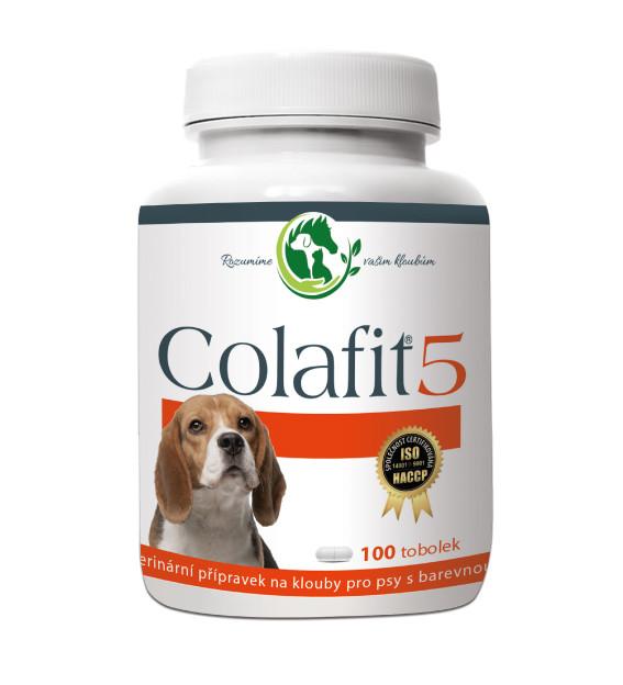 Colafit 5 na klouby pro psy barevné 50tbl