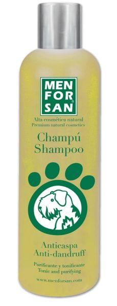 Přírodní šampon Menforsan proti lupům s citronem
