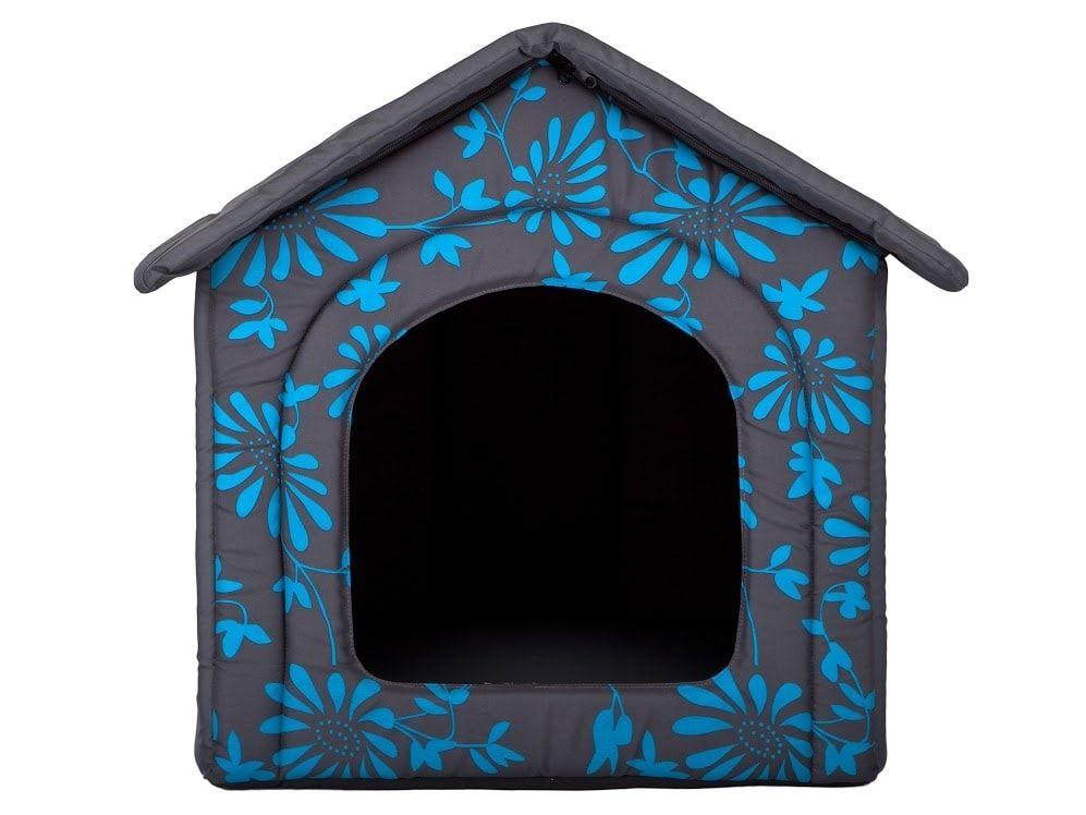 Domeček pro psa Reedog Grey Flower - M