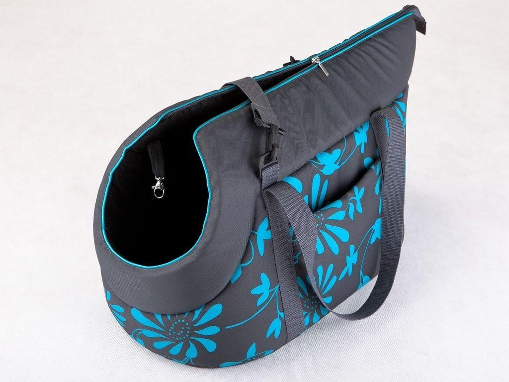 Taška pro psa Reedog Torby Blue Flower - M