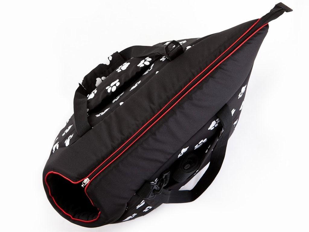 Taška pro psa Reedog Torby Black Paw - M