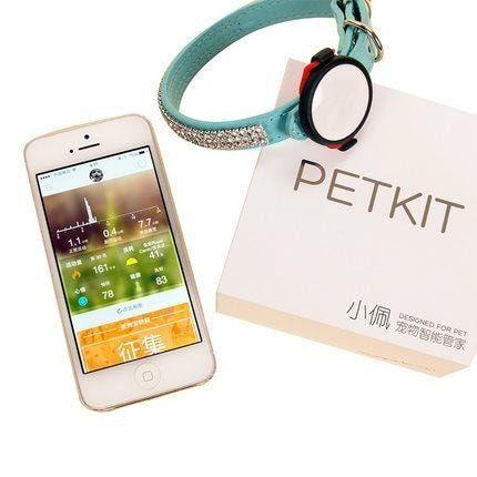 PetKit P2 monitor aktivity pro psy a kočky - fialová