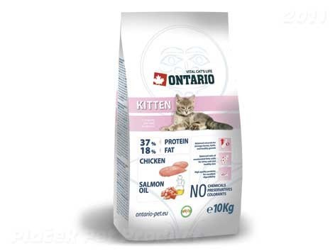 ONTARIO cat KITTEN 10kg - DOPRAVA ZDARMA
