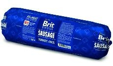 BRIT dog sausage TURKEY/rice 800g