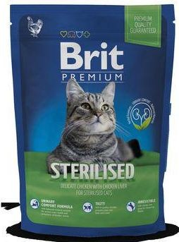 BRIT cat STERILISED 800g