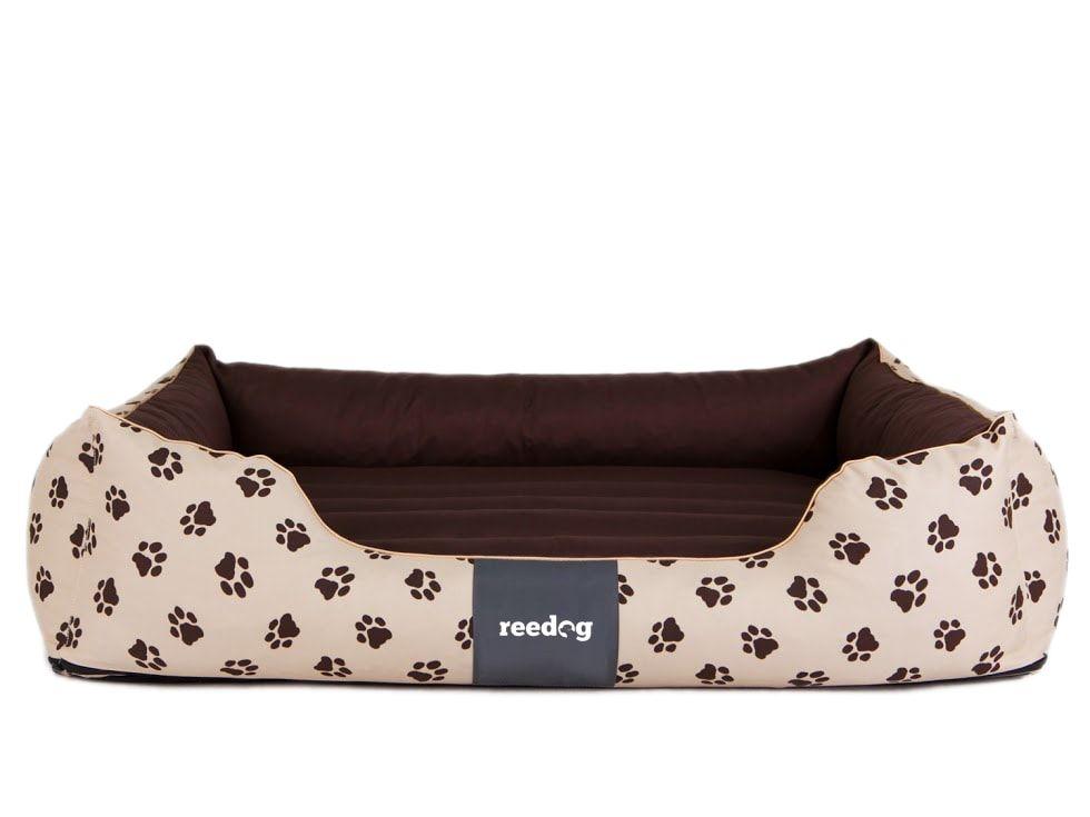 Pelíšek pro psa Reedog Beige Paw - L