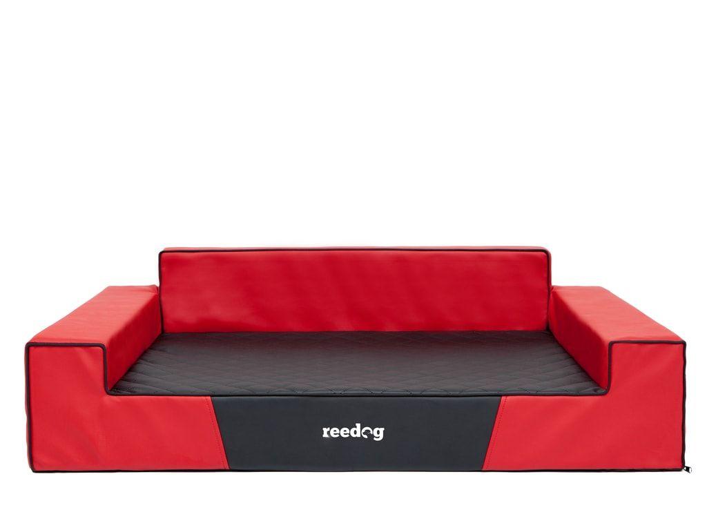 Pelíšek pro psa Reedog Red & Black Glamour - XL